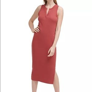 Calvin Klein Jeans SMALL Morocco Ribbed Tank Dress